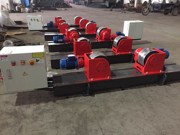 Bolt  Adjustment Conventional Pipe Welding Rollers 40 Ton Load Capacity