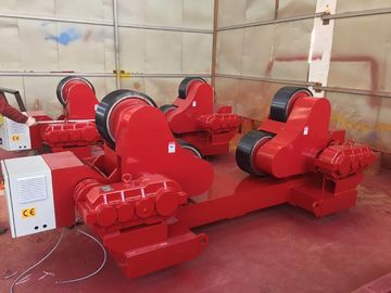40 Ton PU Self - Aligning Tank Turning Rolls Wind Tower Welding Rollers