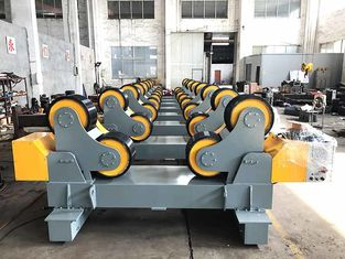 Pipe Welding Rollers With Moving Wheels , 60T Self Aligning Tanks Turning Rolls