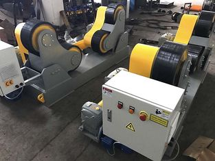 Hand Box Control Self Aligning Pipe Welding Rollers Welding Rotator For Pressure Vessels Welding