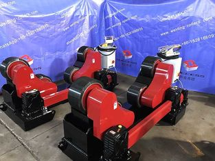 Automatic Heavy Duty Tank Pipe Welding Rollers, Self Adjustment 45000lbs Capacity PU Wheel