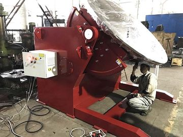 1200 Capacity Tilting Rotary Welding Positioner With Hand Control And Foot Pedal Control