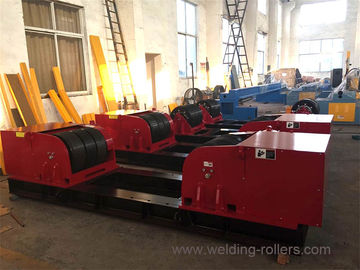 160 Tons Conventional Pipe Turning Rollers , Pipe Tank Welding Rotator