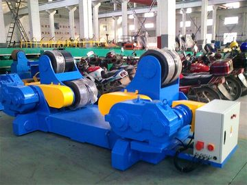 CE Rubber Automatic Pipe Rotators for Welding 47 - 255 Inches Diameter  Pipe