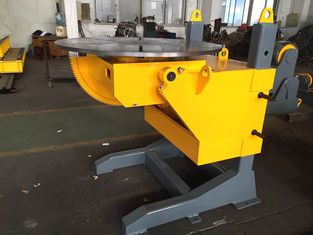 China ISO 3 Axis Positioner Gear Tilt Welding Rotators Positioners 1200mm Table Diameter supplier