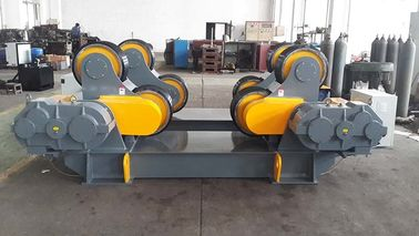 Tanks Turning Heavy Duty Roller Stand , Rubber / Polyurethane Pipe Rollers For Welding