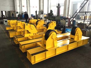 5T - 40T Tank Turning Rolls , Fit Up Welding Rotator For Pressure Vessels