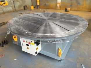 Steel Structure / Slewing Ring Rotary Welding Positioner , Automatic Welding Positioner 15 Ton Max Capacity