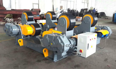 ISO / CE / CO, 100T Automatic Self Adjustment Pipe Welding Rollers For Auto Welding