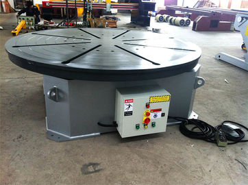 4000 mm Table Diameter Welding Rotary Positioner , 3 T Motorized Rotating Table