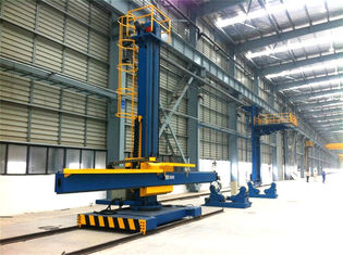 Moving Rotation Welding Column and Boom Manipulator , Vessels Seam Arc Welding Equipment