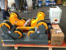 China 40 T Automatic Self Adjustment Pipe Welding Rollers With Wireless Hand Control Box company