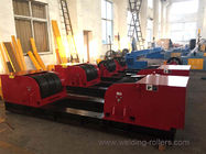 China Red Heavy Duty Pipe Welding Rollers , 200 Ton Capacity Tank Turning Rolls company