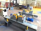 China 5000kg Capacity Pipe Supports Stands With Hand Control Box And Foot Pedal company