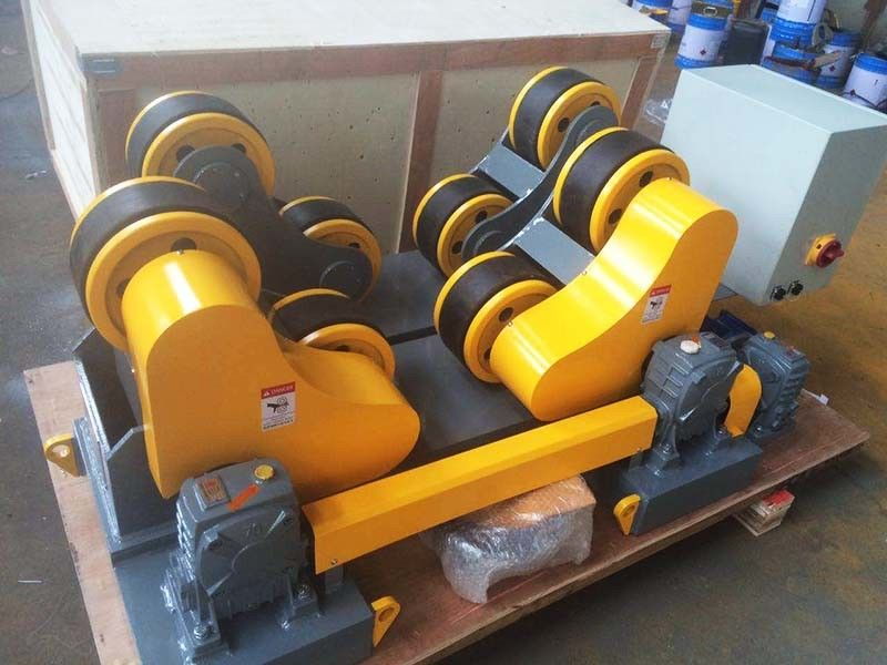 Heavy Duty Pipe Roller Stands 20t 30t Pipe Rollers For