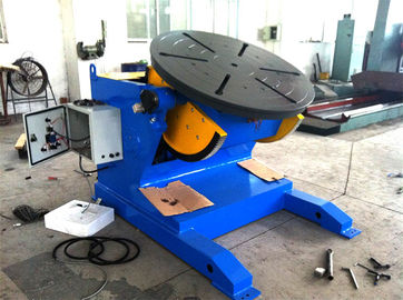 China 4500lbs Capacity Tilting Rotary Pipe Welding Positioners with Motor Driven Speed Regulation factory