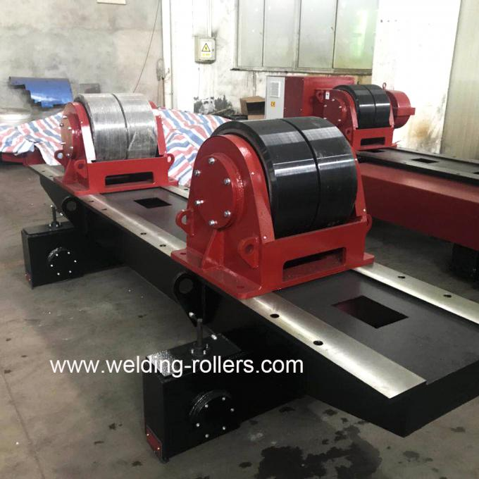 Old Customer's Order- 40T Conventional Welding Tank Rollers Exported To Middle East Market