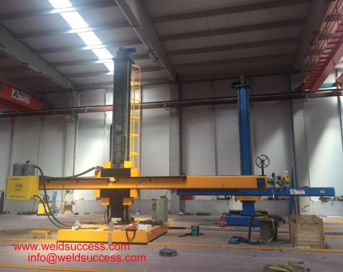 Automatic Tank Welding Column And Boom Manipulator For 8000 mm Diameter 5000 mm Length