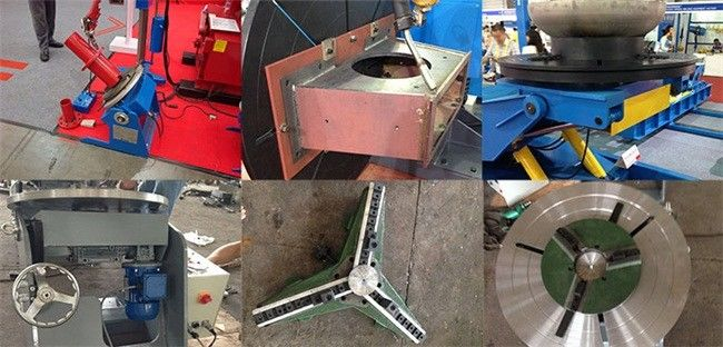 Welding Rotating Table 3 Axis Positioner 90° Tilting Rotary Indexing Table