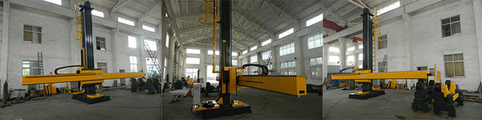 Motorized Moving Rotation Column And Boom Welding Machine