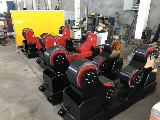 20T Self Aligning Tank Turning Rolls With 440V Voltage To Mexico Market